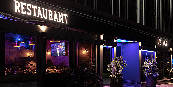 Restaurant Bar Club Annexe ACE, restaurant groupe Paris